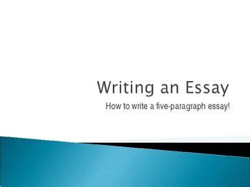 How to present an essay orally