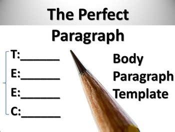 How to write a body paragraph essay